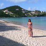 Bella la playa y yo