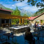 Dine under the Sleeping Lady mountain profile