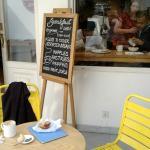 Delicioso café y muy ricos muffins!!