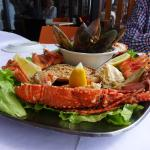 Lobster, crab.. delicious !