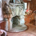Playhouse  fireplace