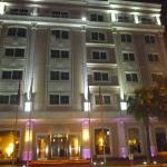 Hôtel en soirée