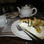 """Пельменная """"Балалайка"""", десерт к чаю."""