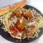 Try our delicious spaghetti & meatballs!  We make our sauce from scratch, the old fashioned way