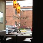 From inside Berryville Grille