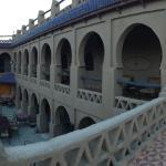 Panorámica hotel y dunas desde terraza