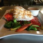 Lobster Tail with Mixed Vegetables