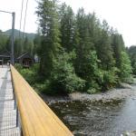 Tillamook Forest Center Bridge