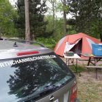Car camping. Huge site!