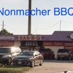 Nonmacher's barbecue on Mason Road corner Kingsland