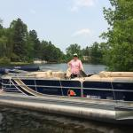 New gorgeous South Bay pontoon for rent at Black Pine Beach Resort!