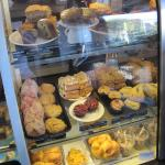 The food display at Caffe Ladro (07/June/15).