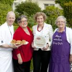 Receiving the Best Scone In Ireland Award