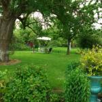Jardin très calme et agréable