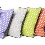 Fab bright cotton herdy cushions