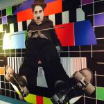 Charlie Chaplin Cafe Painting