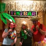 Ladies Luau event with selfie booth!