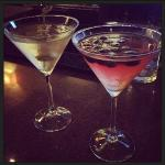 Kettle Dirty  and Organic Blueberry Martini