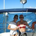 Liz and I on Eden