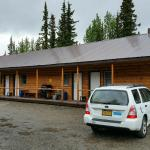 lodge from outside