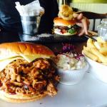 Pulled Pork and Gourmet Burger