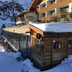 Aprés Ski Bar von aussen