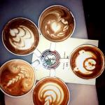 Cappuccinos at the grind!