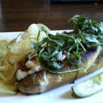 Grilled veggie sandwhich