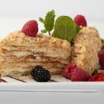 Delicious Homemade Napoleon cake