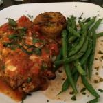 Chicken & Eggplant Parm with Polenta