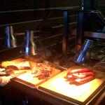 Smoked meat buffet M-F 11am-2pm