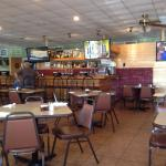 Inside shot of bar