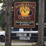 Sign out front