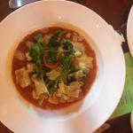 Gnocchi with fresh tomato sauce, parmesan & rocket