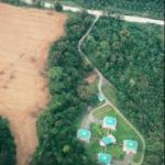 View of the property from Google earth
