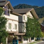 Enjoy the beautiful mountains and scenery that surround the Homewood Suites in Jackson Hole WY.