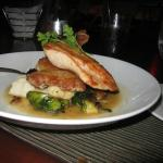 Roasted Chicken, Creamy Potatoes, Brussels Sprouts, Lemon Butter