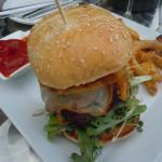 Free Range Grass Fed Beef Burger