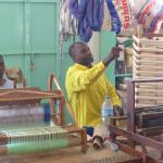 Weaving in the Neema Craft workshop gives worth and value to its deaf workers.