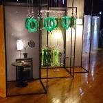 玉玦燈飾文創品- Cultural and creative products (inspired by different shapes of nephrite earrings)