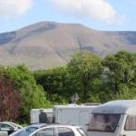 Glen of Aherlow Caravan and Camping site views