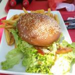 Mon hamburger fait maison