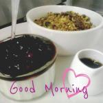 Granola served with Fruit Compote and Natural Yogurt