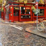 The famous Temple Bar area