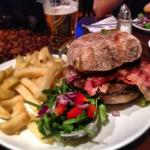 One of our premium burgers