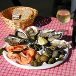 assiettes de fruits de mer pour 1 pers