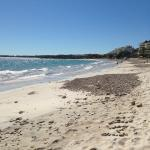 This is the beach in front of the La Quinta del Sol!!!