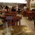 a arrumação tranquilidade do restaurante silencioso