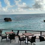 The view from our table