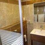 Fully renovated bathroom - small but well appointed